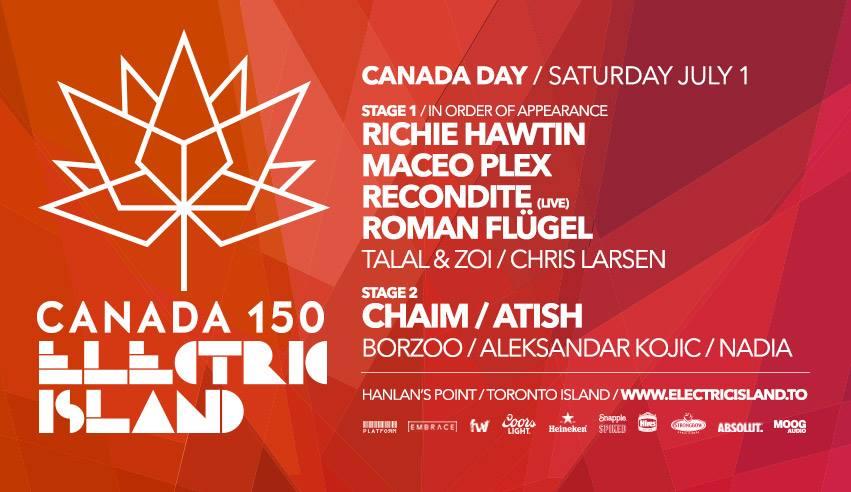Electric Island Canada 150